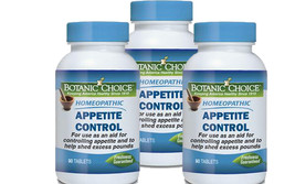 HOMEOPATHIC APPETITE CONTROL FORMULA Natural Weight Loss Supplement 270 ... - $30.68