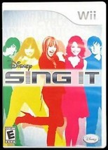 Disney Sing It - Nintendo Wii - Manual included - $5.83