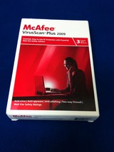 McAfee VirusScan Plus 2009 - 3 Users - $9.95