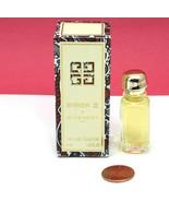 Vintage Givenchy III By Givenchy Travel Size EDT Splash Mini 1/8th Oz Ne... - $18.80