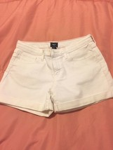 Gapkids girl's white denim shorts 14 - $8.99