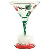 Lolita Holiday 2012, Martini Glass, Shop-A-Holiday NEW in Box - $33.56 CAD