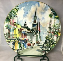 """French Quarter New Orleans Royal Doulton 10-1/4"""" Collector Plate Dong Kingman  - $16.61"""