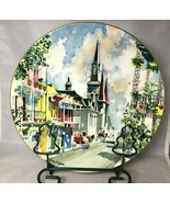 """French Quarter New Orleans Royal Doulton 10-1/4"""" Collector Plate Dong Ki... - $16.61"""