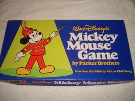 Vintage 1976 Walt Disney Mickey Mouse Board Game 100% Complete - $35.99