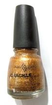 China Glaze CRACKLE Nail Polish Cracked Medallion - $0.98