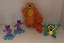 Bear and The Big Blue House 5 Figure Set - $21.99