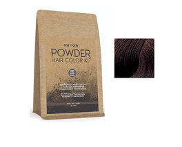 One 'N Only Powder Permanent Hair Color Kit Medium Brown