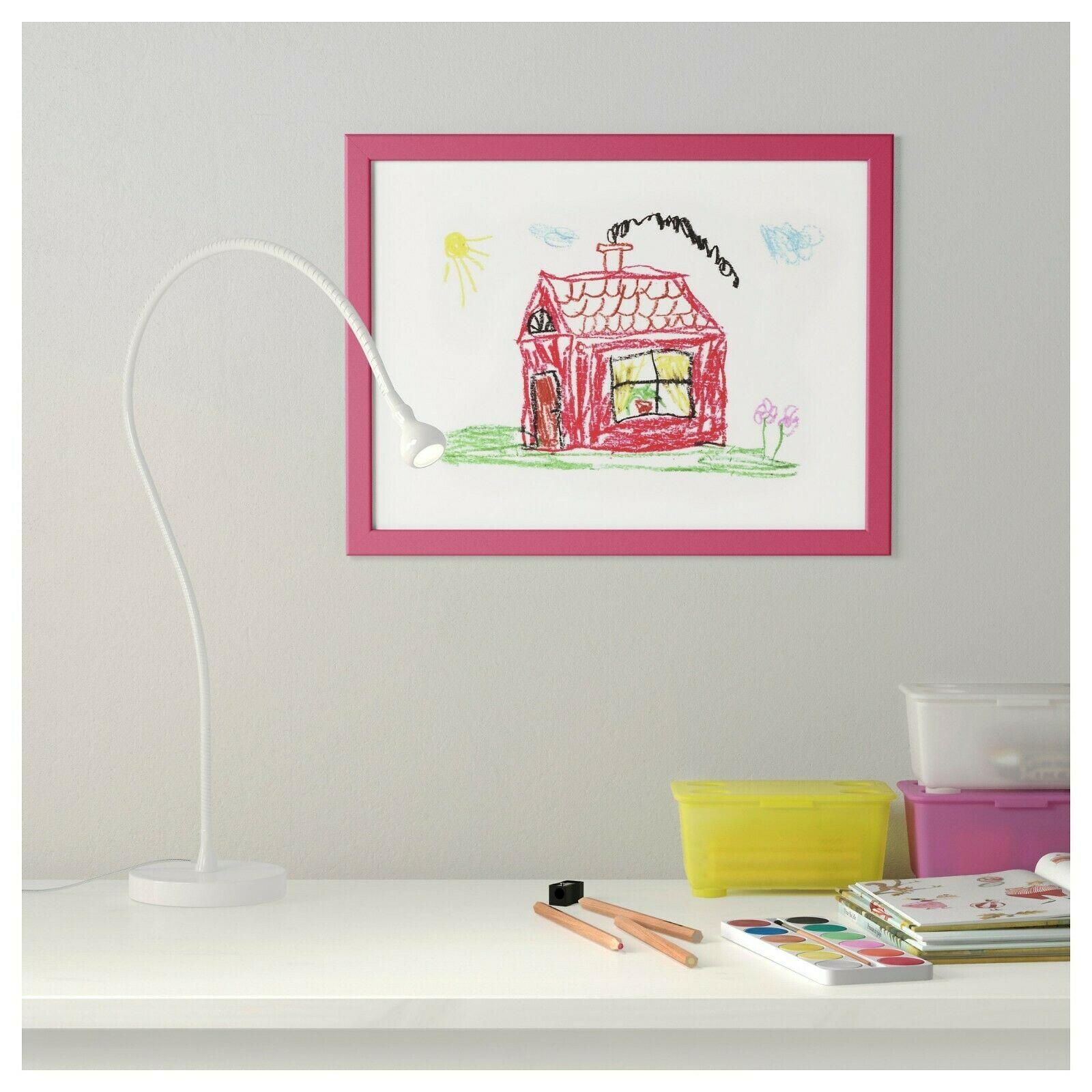 "IKEA Fiskbo 22509 Frame Pink 603.003.93 Size: 12x16"" New FS! image 2"