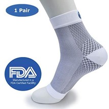 Plantar Fasciitis Compression Foot Sleeves for Men and Women Reduces Pain from P