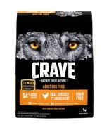 Crave Grain Free With Protein From Chicken Dry Adult Dog Food, 12 Pound Bag - $41.22