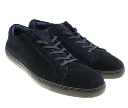KENNETH COLE Techni-Cole Mens Black Suede Leather Lace-ups Sneakers Shoe... - $28.70