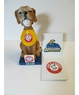 2013 Chase the Bat Dog Trenton Thunder Bobblehead Stadium Giveaway Arm H... - $28.71