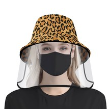hat face shield, hat with detachable face shield, adult face shield, leo... - $35.99