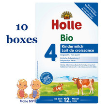 *FREE SHIPPING* Holle stage 4 Organic Formula 09/2020, 600g, 10 BOXES - $238.95