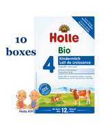 *FREE SHIPPING* Holle stage 4 Organic Formula 05/2020, 600g, 10 BOXES - $238.95
