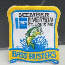 Vintage St. Louis Missouri Emerson Bass Busters Fishing Patch - $14.38