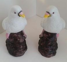 UCGC Porcelain Bird figurines Dove figurines 1 pair 1980s - $10.00