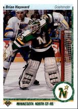 Brian Hayward 1990-91 Upper Deck Card #449 - $0.99
