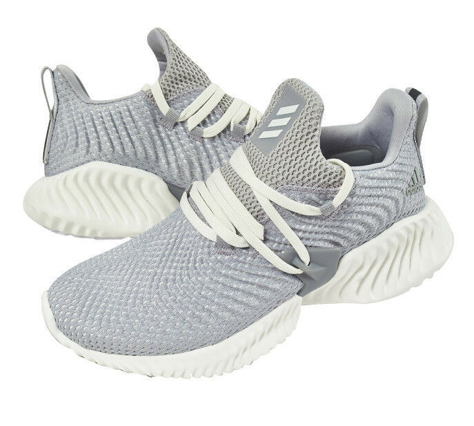 adidas alphaBOUNCE Instinct Women's Running Shoes Gray Fitness Gym NWT F36732 image 2