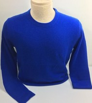 Polo Ralph Lauren Mens Sweater Blue Small Cashmere Crewneck - $158.40