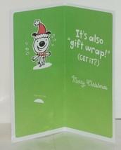 Hallmark XMH 182 4 Puppy Mistletoe Christmas Gift Card Holder Package 3 image 2