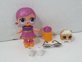 LOL Surprise Doll Super BB Glitter Series + MC Hammy pet hamster - $19.79