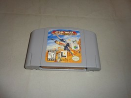 Star Wars: Rogue Squadron, Game Only w/ End Label, Nintendo 64 - $12.99