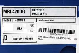 Men's Deconstructed 420 New MRL420DG Balance 8 SZ Salmon THHUg