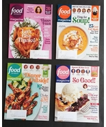 7 Food Network Magazine MAR 2021 Lot Health Travel Recipes Baking Soup Cooking - $20.74