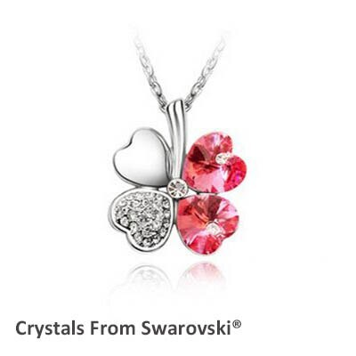 2019 summer style hot sale classic clover necklace with Crystals from Swarovski  image 5