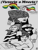 """18x24""""Political World Solidarity Socialist Poster.Decor.Victory or Death... - $21.00"""
