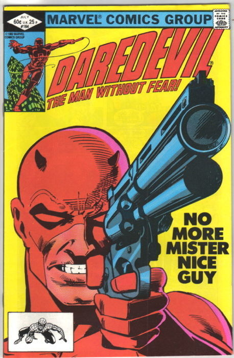 Daredevil Comic Book #184 Marvel 1982 NEAR MINT UNREAD