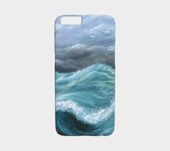 Cell Phone Case for Iphone Samsung Sea View 244 Ocean Waves blue art L.D... - $28.99