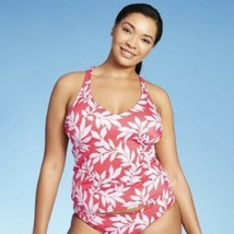All in Motion Pink Floral Swimsuit Swimwear Tankini Womens Plus Sizes 26... - $19.79