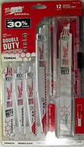Milwaukee 49-22-1129 12 Piece Demolition SAWZALL Blade Set USA - $17.82