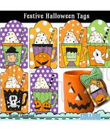 Festive Halloween Gift Tags - $1.25