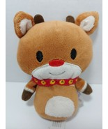 "Rudolph the red nosed reindeer Hallmark Itty Bitty plush doll 4-5"" used - $4.94"