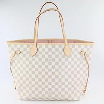 Authentic Louis Vuitton Damier Azur Neverfull MM - $1,150.00