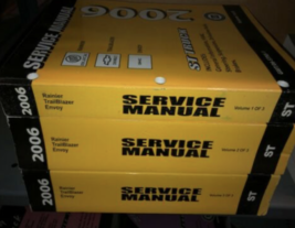 2006 chevy trailblazer gmc envoy buick rainier service shop repair manual - $328.22