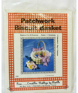 "patchwork pattern Creative making by Martie for ""Biscuit Basket"" UNCUT 1979 - $18.81"