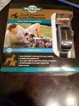 "PetSafe Vibration Bark Control Collar  Dogs 8+ lbs, Up To Sz 28"" SEALED NEW  - $29.69"