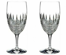 Waterford Lismore Diamond Iced Beverage 2 Two Glasses New # 40002107 - $178.20