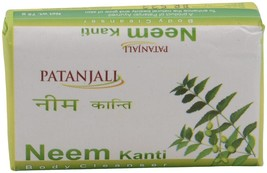 Patanjali Kanti Neem Body Cleanser Soap 75g pck of 2 - $11.61