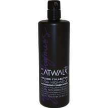 TIGI Catwalk Volume Collection Your Highness Nourishing Conditioner, 25.... - $20.18