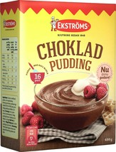Ekströms Chokladpudding Chocolate Pudding Mix 480 gram Made in Sweden - $19.79