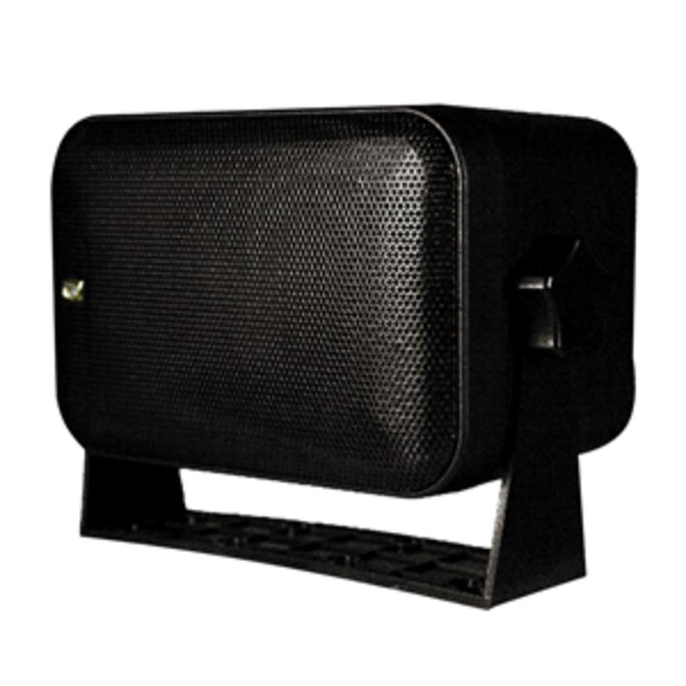 Poly-Planar Box Speakers - (Pair) Black