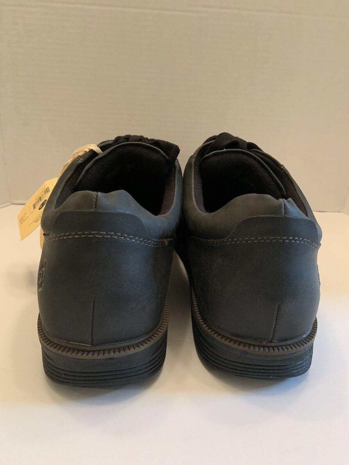 Earth Spirit Vegan Men's Powell Oxford Shoe Cushioned Black Size 13