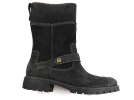 """Timberland 26668 Atrus Women's 8"""" Black PULL-ON Leather Boots Size 5.5 - $67.99"""