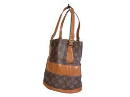 Auth Louis Vuitton Vintage Bucket Monogram Tote Bag, Shoulder Bag Purse LH2136 - $219.00